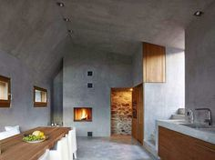 simplicity love: Stone House Transformation, Switzerland | Wespi de Meuron Romeo architects