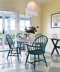 25 Beach Style Dining Room Design Ideas