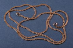 Gilt Vintage Flat-Link Chain