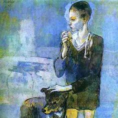 Pablo Picasso - Boy with a Dog. 1905