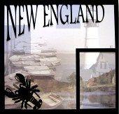 EZLaserDesigns : New England Title  scrapbook overlay vacation travel layout