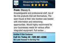 Knowledgeable and professional staff, top of the line products that sell themselves. The...