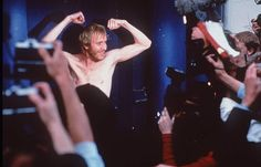 Rhys Ifans who plays the lovable Spike in Notting Hill.