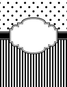 Resultado de imagem para free printables black and white