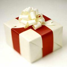 Candy-Stripe Box,  Gift wrapping design idea