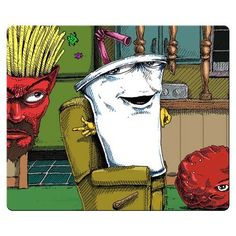 Aqua Teen Hunger Force (adultswim show). Cartoon Art, Cartoon Characters, Fictional Characters, Harvey Birdman, Aqua Teen Hunger Force, Teen Art, Cool Cartoons, Adult Cartoons, Stuff And Thangs