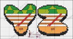 Viviane Pontos e Art's: Gráfico Monograma Chaves