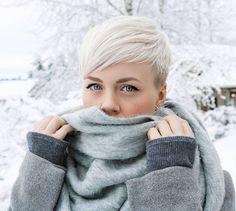 Kurzhaarfrisuren Blonde Farben Damen sportlich 2017 (Cool Hairstyles 2017)