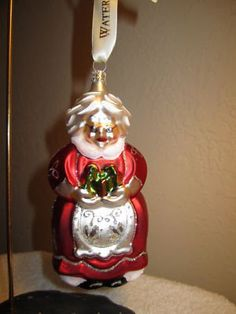 Waterford Holiday Heirlooms Mrs Clause Ornament