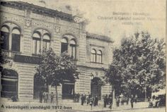 Gundel - Városligeti vendéglő 1912 Old Pictures, Old Photos, Vintage Photos, Capital Of Hungary, Anno Domini, Budapest Hungary, Historical Photos, The Past, Street View