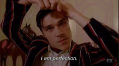 uhhh no need to state the obvious, there,dandy mott... AHS freak show