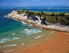 Playas de Cantabria: Mataleñas, Santander  #Cantabria #Spain
