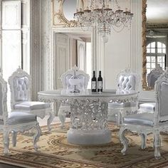 Perfect White Formal Dining Room Sets   Google Search