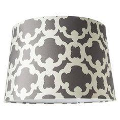 Threshold™ Flocked Lamp Shade - Large -Elephant $25  http://m.target.com/p/threshold-flocked-lamp-shade-large/-/A-14651877?richrel=true
