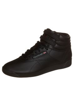 Reebok Classic - FREESTYLE HI - Höga sneakers - black