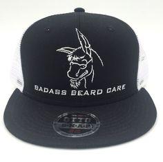 Badass Beard Care - Badass Flat Bill Snap Back Hat, $19.99 (https://badassbeardcare.com/badass-flat-bill-snap-back-hat/)