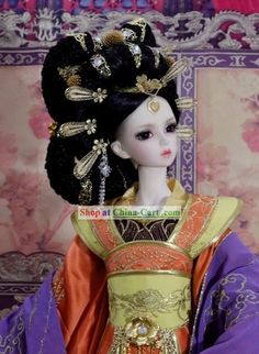 Ancient Chinese Empress Wig and Hair Accessories