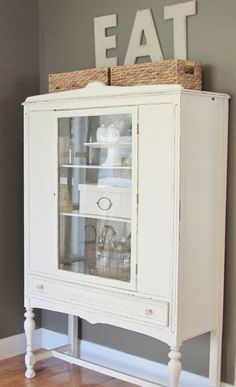 Benjamin Moore chaulkboard paint is the best. For that old furniture