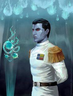 Thrawn In Star Wars • a-grand-admiral:   evolvana:   Grand Admiral...