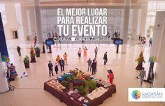Celebre su evento en nuestras instalaciones, contáctenos.  info@mazatlanic.com Tel. (669) 9896060 http://mazatlaninternationalcenter.com/rfp/  #MazatlanInternationalCenter