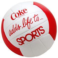 coke volleyball.