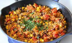 Mexická quinoa z jedné pánve
