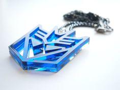 Megatron Necklace -Transformers Pendant – Decepticons