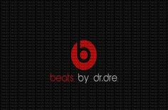 Beats By Dr Dre Logo Black Minimalism - Cartoon-City.com