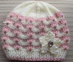 Crochet Owl Hat Pattern Ba Hat Knitting Patterns Straight Needles My Crochet Owl Blanket Baby Hat Knitting Pattern, Baby Hats Knitting, Knit Patterns, Knitted Hats, Crochet Owl Hat, Pink Hat, Beanie, 12 Months, 4 Years