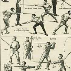 Cane fighting poster 1922 Vintage sports print Vintage fencing poster Cane fighting poster Stick fighting poster French dictionary page Stick Fight, French Dictionary, Self Defense Martial Arts, Scoliosis Exercises, Martial Arts Techniques, Best Self Defense, Art Of Manliness, Sword Fight, Fight Club