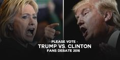 POLL: 'US Presidential Debate' Whats your thoughts on -- Donald Trump vs. Hilary Clinton?   POLL: 'US Presidential Debate' Whats your thoughts on -- Donald Trump vs. Hilary Clinton?  Who had the best views? Trump/Hilary let us know below.  Scroll down below this post to (Leave your Comment/Vote/Review)  Participate in our poll by scrolling down to the end of this post.  Type your preferred comment / your choice  stay on the topic.  Get use to our threads (What is this?)  Donald Trump Hillary…