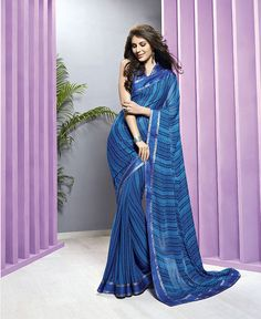 In order to comprehend and meet the diverse requirements of esteemed clients, we are able to offer Designer Printed Sarees. The offered range of digital designer printed sarees is made utilizing high grade Georgette, cotton and crape, sourced from reliable vendors of the market. Along with this, the offered range of  designer printed sarees is ideal for formal as well as traditional occasions. Features: * Commendable finishing * High colorfastness * Designed elegantly