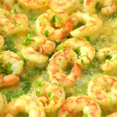 One Pot Shrimp Scampi with Zucchini Noodles makes a tasty and healthy dinner. The shrimp are cooked in a buttery, lemon-garlic sauce and then combined with zoodles. Healthy Dinner Recipes, Gourmet Recipes, Cooking Recipes, Healthy Dinners, Shrimp Recipes, Fish Recipes, Recipies, Zucchini Noodle Recipes, Recipe Zucchini