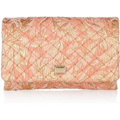 Dolce & Gabbana Quilted jacquard clutch ($585) ❤ liked on Polyvore featuring bags, handbags, clutches, purses, borse, print purse, print handbags, chain strap handbag, dolce gabbana purse i quilted chain strap purse