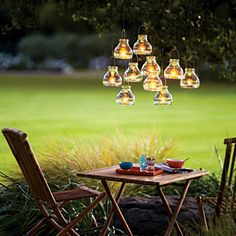 53 favorite backyard projects | Votive chandelier | Sunset.com