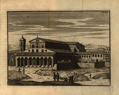 Basilica di San Paolo Fuori le Mura #roma #basilica #settechiese #ilustrazione San, Antiques, Arch, Painting, Jordan Spieth, Rome, Pintura, Antiquities, Antique