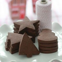 These Chocolate Shortbread Cookies from Marian of Sweetopia are the perfect base for decorating, but they also taste great on their own. Chocolate Shortbread Cookies By Marian, Sweetopia Makes 30 3-inch diameter cookies Ingredients: 2 cups (4 sticks) unsalted butter, at room temperature 2 cups sugar 2 large eggs 3Get the Recipe