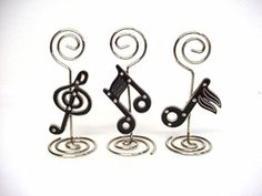 Music Note Placecard Holder - $3.49 each