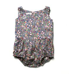 Soor Ploom Liberty Playsuit | sugar on snow