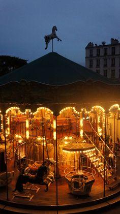 Paris  Carousel Frm bd: Around The World At Night