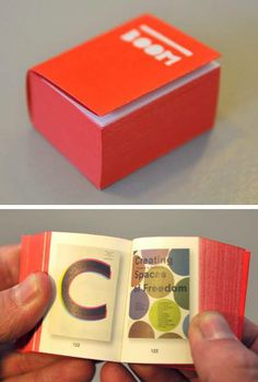 Mini book by Irma Boom.