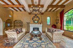 Tuscan Dream - Miley Cyrus's Tuscan-Style Mansion in  Los Angeles - Photos