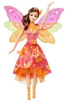 Mattel Barbie BLP26 - Barbie und die geheime Tür Magische Fee mit Funktion, Puppe