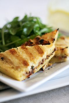 Blue Cheese and Walnut Grilled Polenta-1 by Sonia! The Healthy Foodie, via Flickr