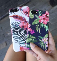Wild Orchid & Pink Azalea case for iPhone 8, iPhone 8 Plus & iPhone X from Elemental Cases. Shop our entire collection of Floral cases including iPhone 7 & iPhone 7 Plus now! #iphone6splus, #iphone8case,