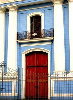 Church Doors at La Iglesia de La Candelaria in Caracas, Venezuela {April 2010}