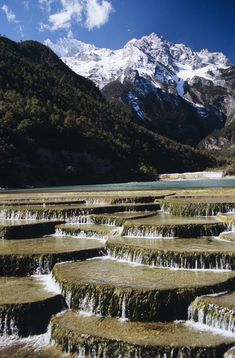 ✯ White Water River near Lijiang, China