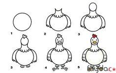 Kolay-Tavuk-Cizimi