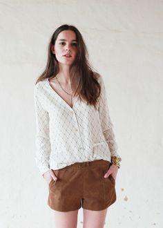 Sézane / Morgane Sézalory - Rothko blouse - Collection spring 2014 Taroudant www.sezane.com