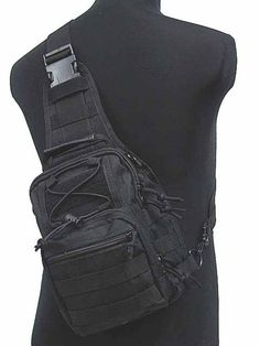 Tactical Molle Utility Gear Shoulder Sling Bag Black S free ship-in Luggage & Bags on Aliexpress.com